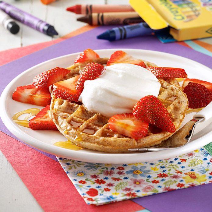 Strawberry Breakfast Shortcakes