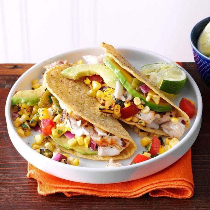 Day 16: Summer Garden Fish Tacos