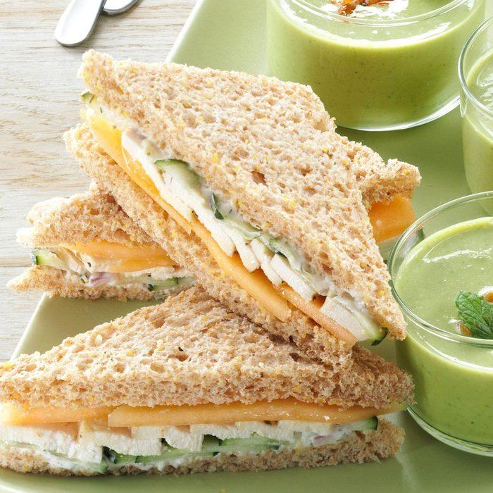 Summer Tea Sandwiches