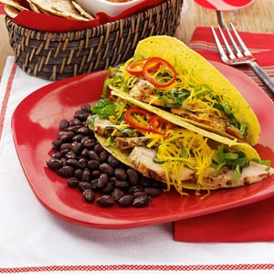 Summertime Chicken Tacos