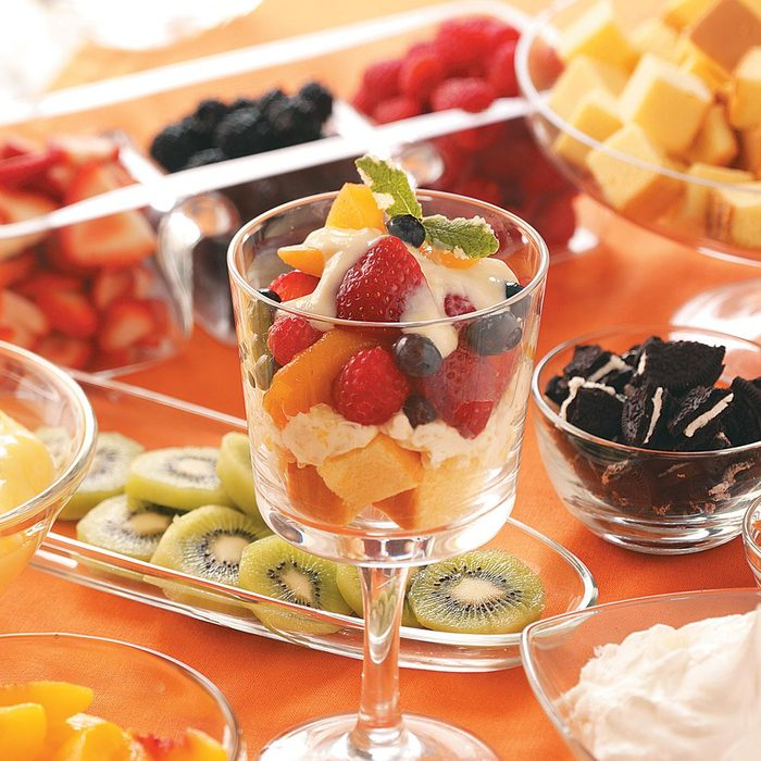 Summertime Fruit Trifles
