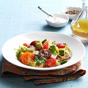 Summertime Tomato-Melon Salad