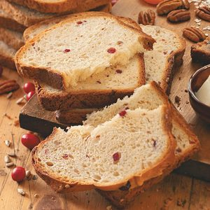 Sunflower Cranberry Bread