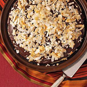 Susie's Dark Chocolate-Coconut Pie