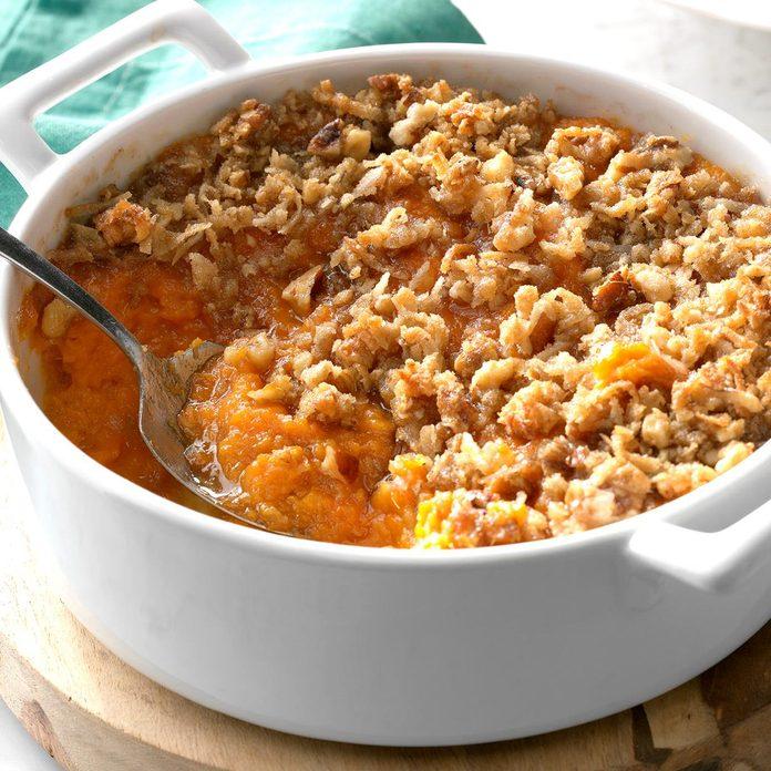 Inspired by: Boston Market's Sweet Potato Casserole