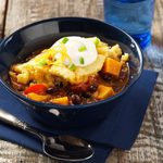 Sweet Potato Chili Bake