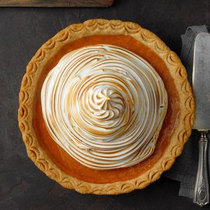 Sweet Potato Coconut Pie with Marshmallow Meringue