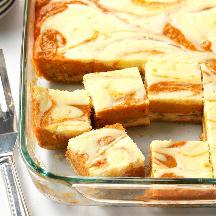 Sweet Potato Cream Cheese Bars