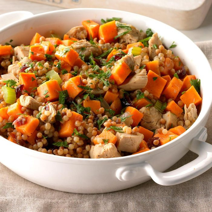 Day 21: Sweet Potato and Turkey Couscous