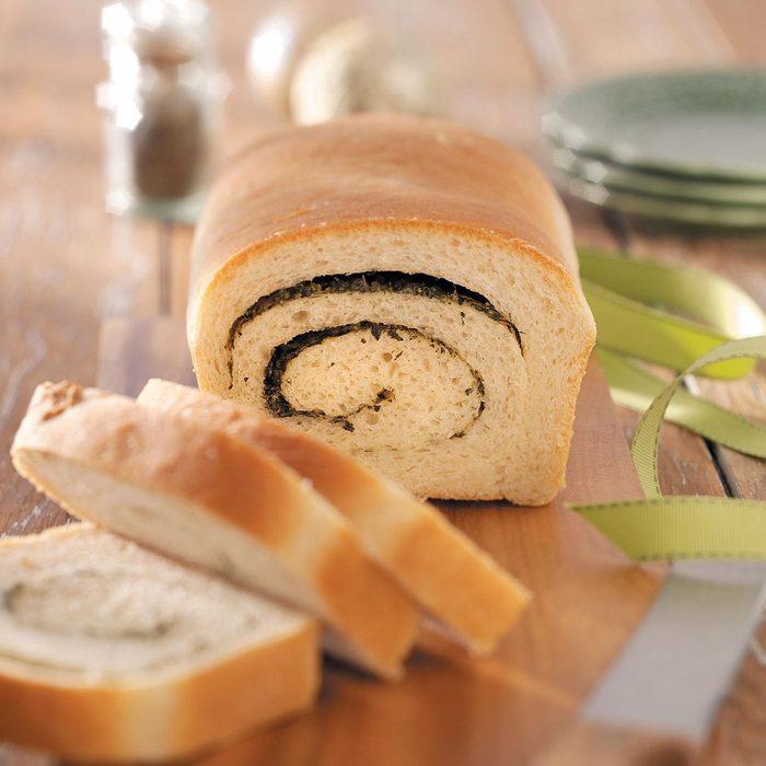 Swirled Herb Bread