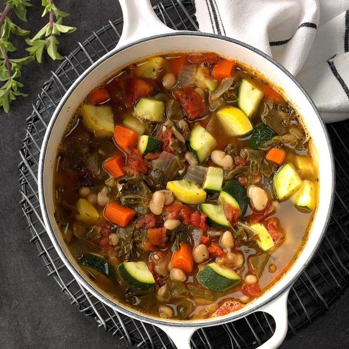 Swiss Chard: Swiss Chard Bean Soup