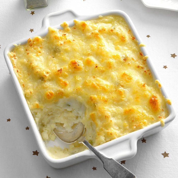 Swiss Cheese Potatoes