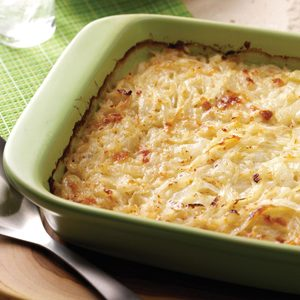 Swiss Sweet Onion Casserole
