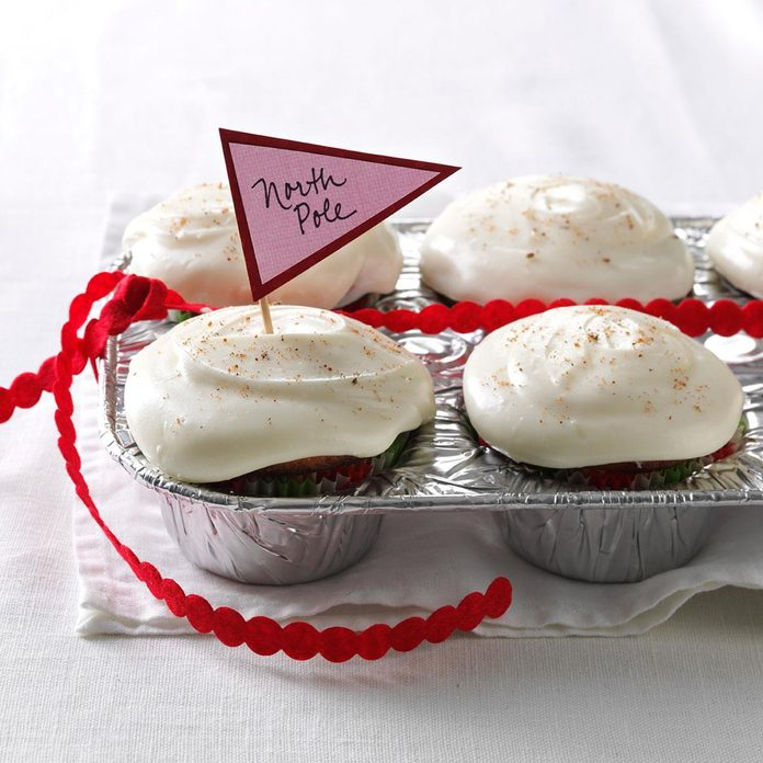Yuletide Eggnog Cupcakes
