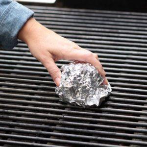Aluminum foil; Grill