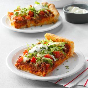 Taco Pizza Squares