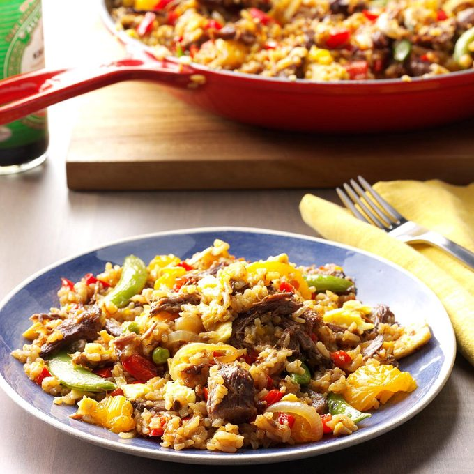 Takeout Beef Fried Rice