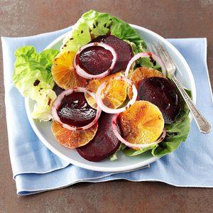 Tangerine & Roasted Beet Salad