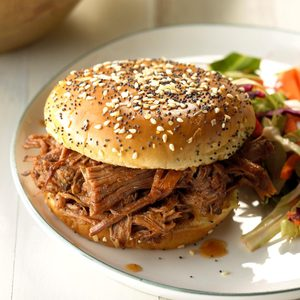 Tangy Barbecue Sandwiches