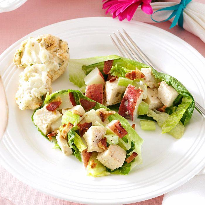Tarragon Chicken & Romaine Salad