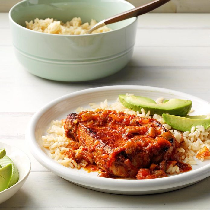 July 8: Tex-Mex Pork Chops