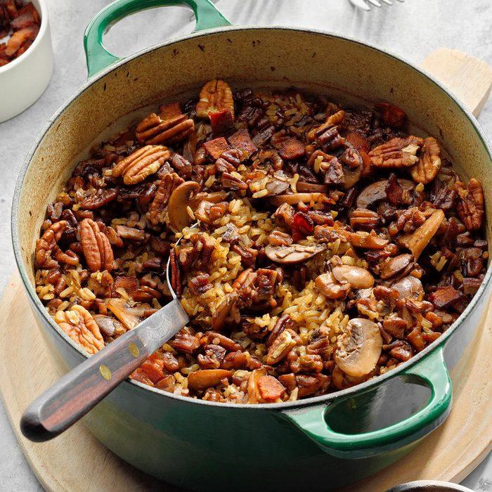 Texas Pecan Rice