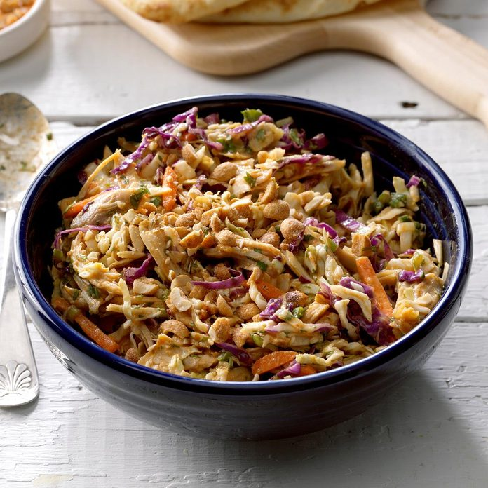 Thai Chicken Coleslaw