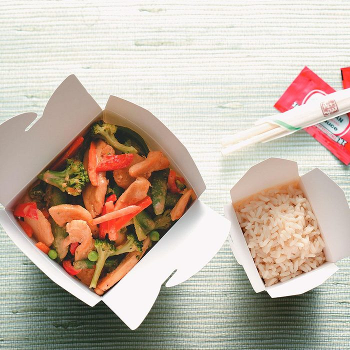 Thai Chicken Stir-Fry for Two