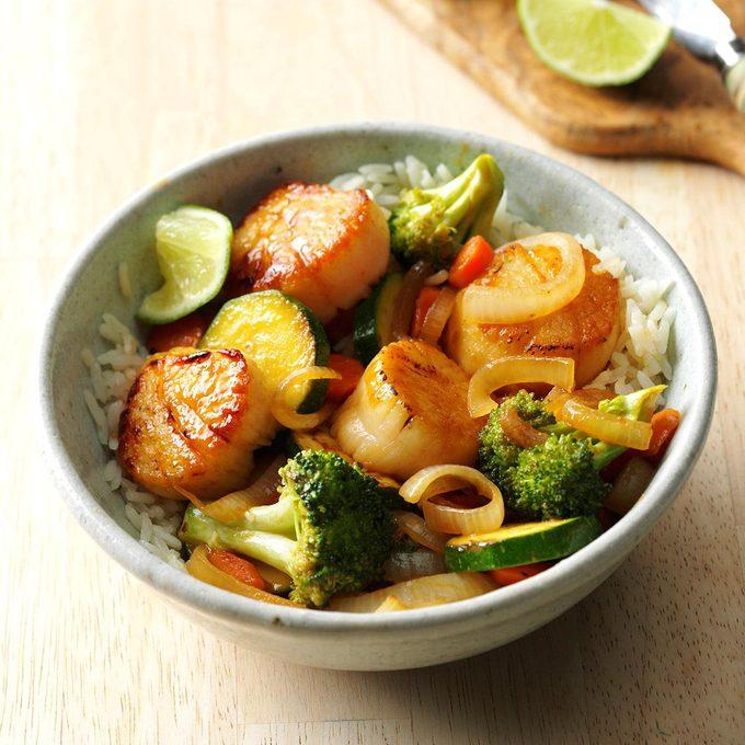 Thai Scallop Saute