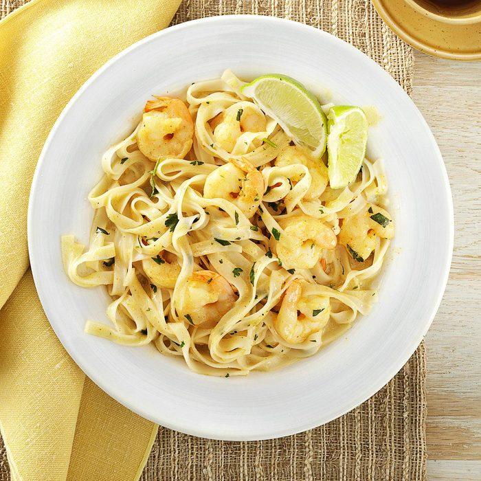 Thai Shrimp Pasta
