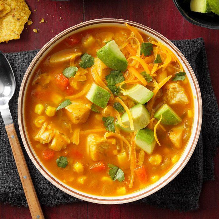 """Thanksgiving's Not Over Yet"" Enchilada Soup"