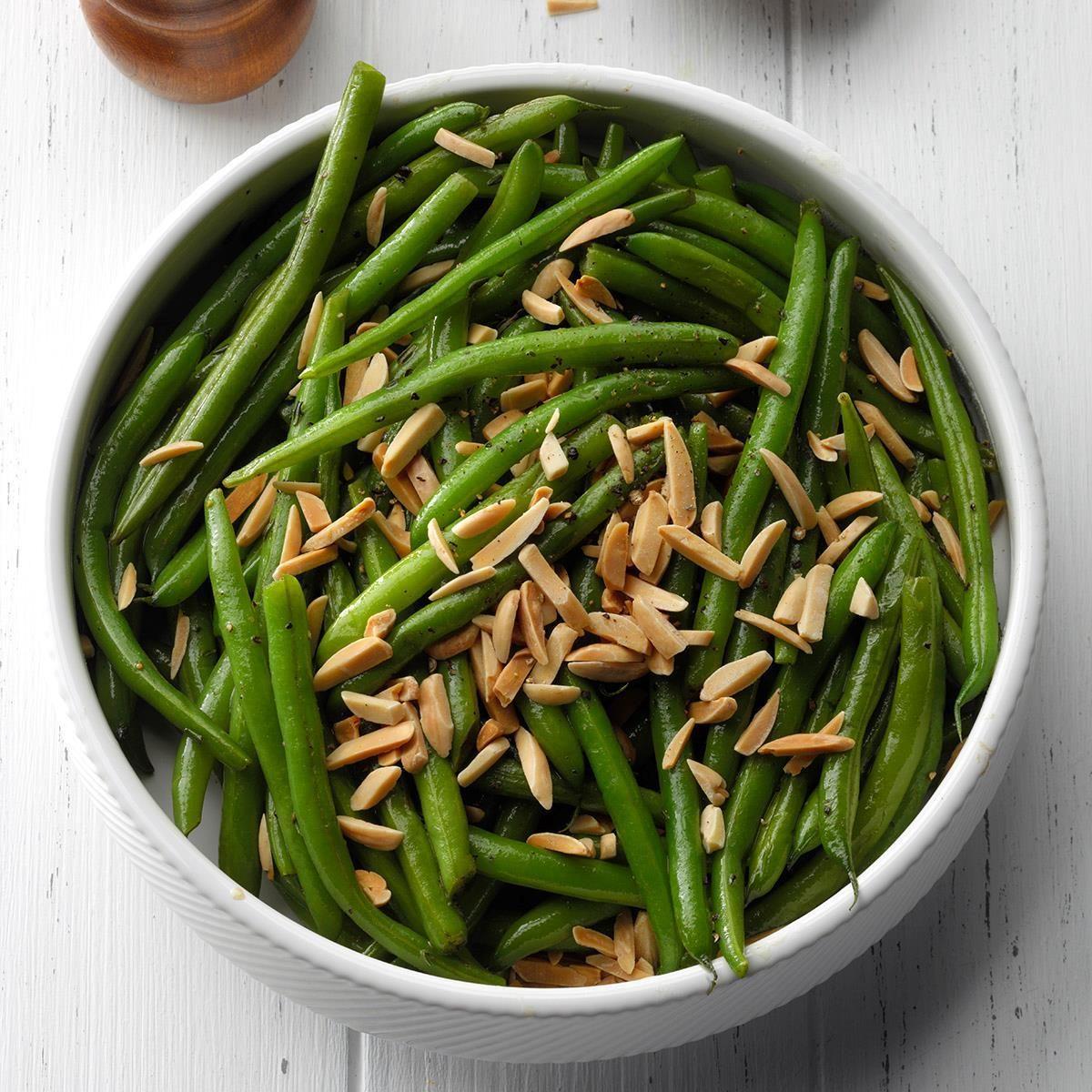 Thyme + Green Beans