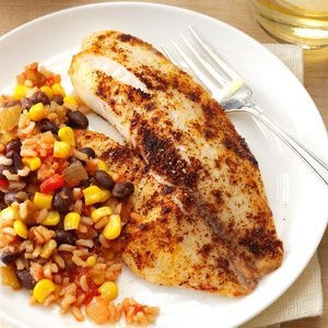 Tilapia with Fiesta Rice