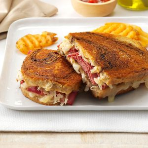 Toasted Reubens
