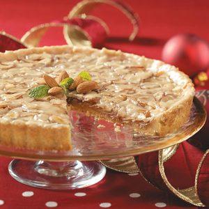 Toffee Almond Tart
