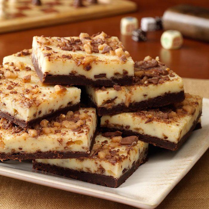 Toffee Cheesecake Bars
