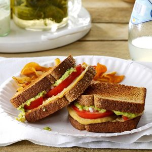Tomato & Avocado Sandwiches