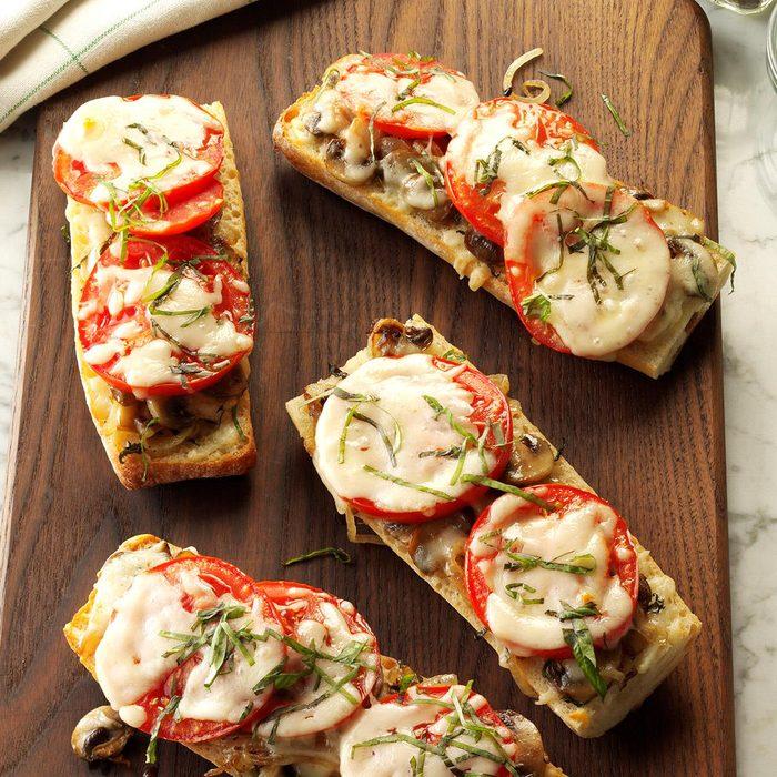 Tomato Baguette Pizza