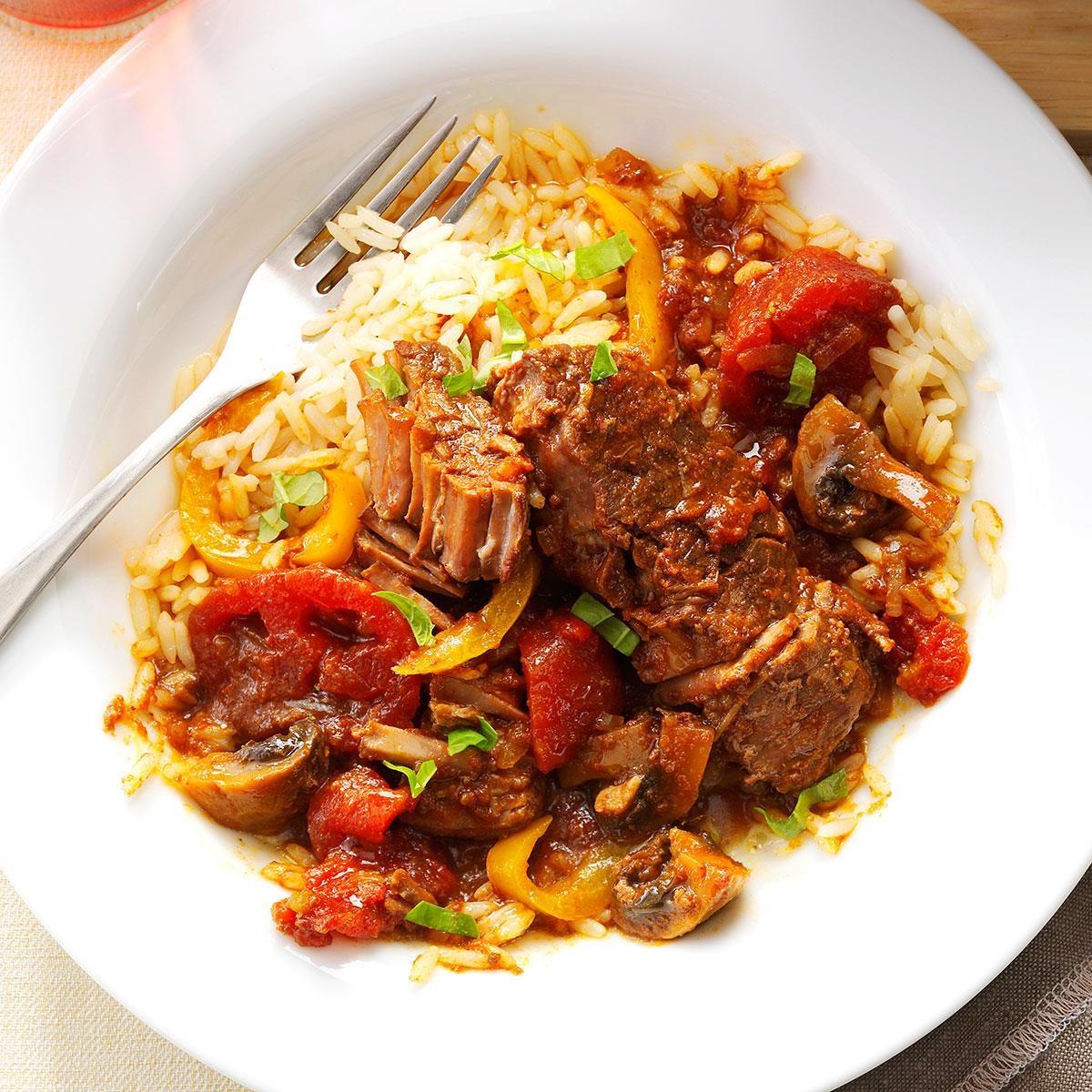 Wednesday: Tomato-Basil Steak