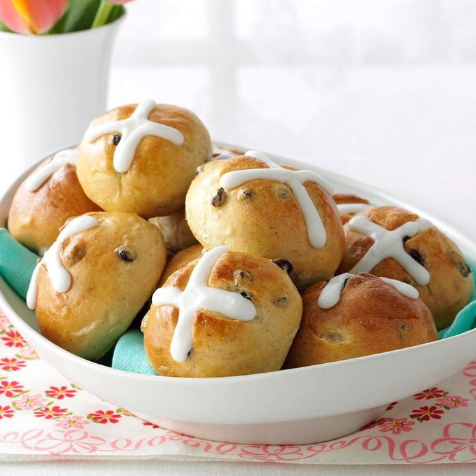 Inspired by Frances's Hot Cross Buns