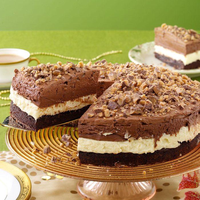 Triple Mousse Torte