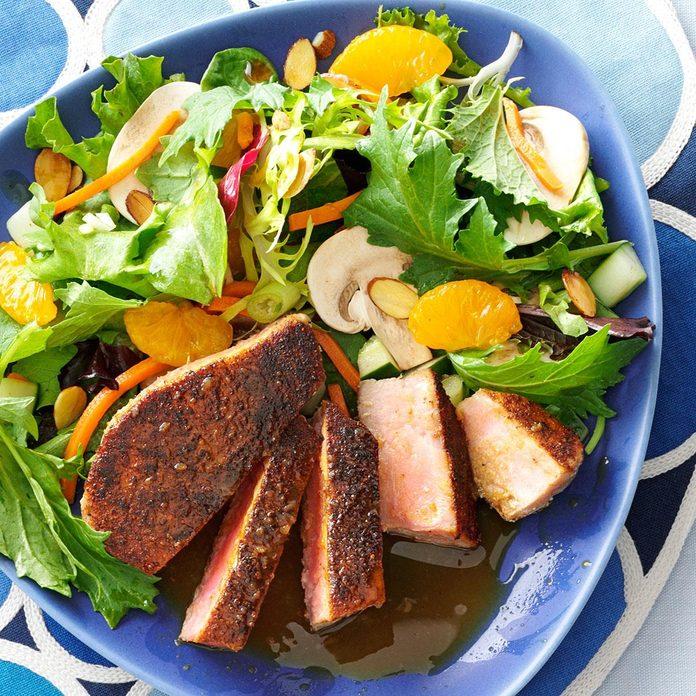 Tuna with Citrus Ponzu Sauce