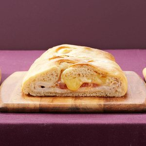 Turkey-Brie Stromboli