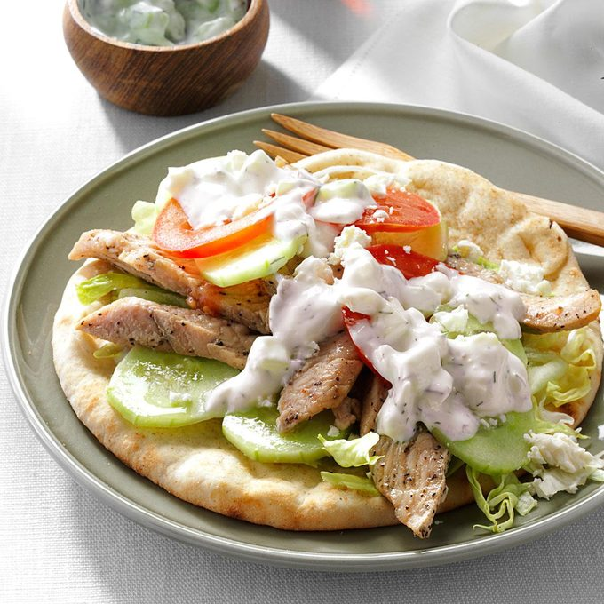 Day 30: Turkey Gyros