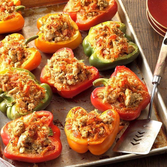 Turkey Stuffed Bell Peppers Exps Hrbz16 40402 D09 07 1b 9