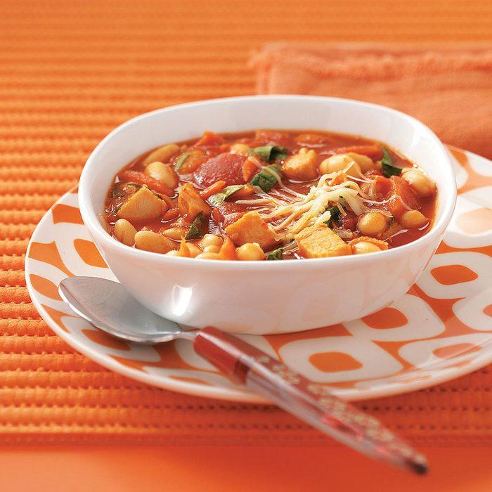Turkey-White Bean Soup