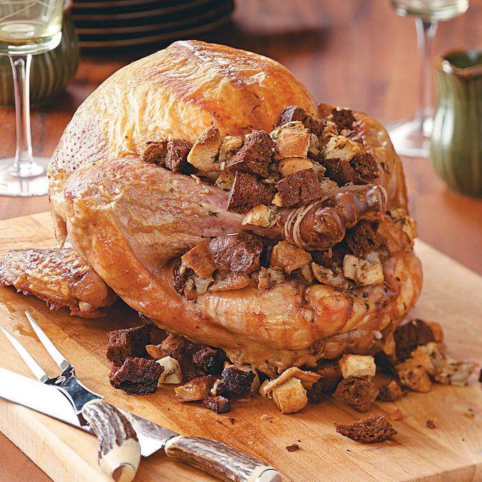 Turkey With Rye Dressing