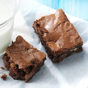 Ultimate Double Chocolate Brownies