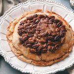 Upside-Down Apple Pecan Pie