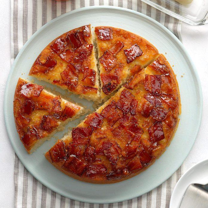 Upside-Down Bacon Pancake